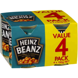 Photo of Heinz Baked Beans Pack (4x130g)