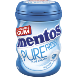 Photo of Mentos Pure Fresh Freshmint Bottle 68g