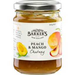 Photo of Barkers Peach Mango Chutney 260gm