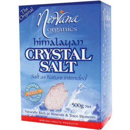 Photo of Nirvana Health Products Salt - Himalayan Crystal Salt - Medium
