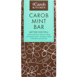 Photo of The Carob Kitchen Carob Mint Bar 80g