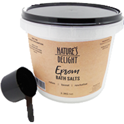 Photo of Natures Delight Epsom Bath Salts 2.5kg