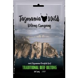 Photo of Tasmania Wild Biltong Company Traditional Beef 40gm