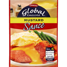 Photo of Diron Global Cuisine Sauce Mustard 45g