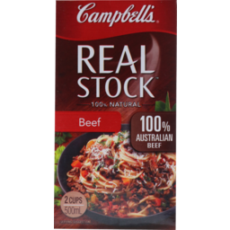 Photo of Campbells Real Stock Beef 500ml