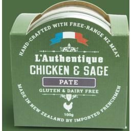 Photo of L'Authentique Pate Chicken & Sage 100g