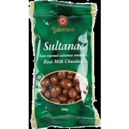 Photo of Ballantyne Choc Sultanas 200g