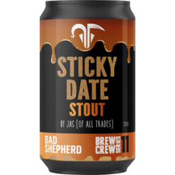 Photo of Bad Shepherd Sticky Date Stout Can