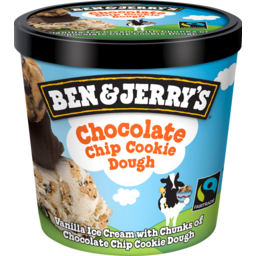 Photo of Ben & Jerry's Ice Cream Choc Chip Cookie 120m