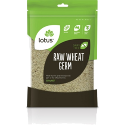 Photo of Lotus Raw Wheat Germ 500g