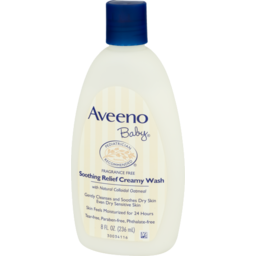 Photo of Aveeno Baby Creamy Wash Soothing Relief Fragrance Free
