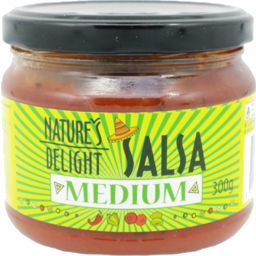 Photo of Natures Delight Salsa Medium 300g