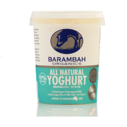 Photo of Barambah Natural Yoghurt 500gm