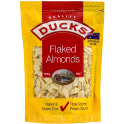 Photo of Ducks Blanched Flaked Almonds 100gm