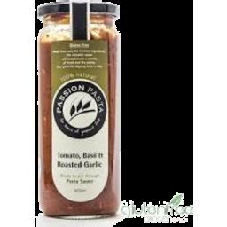 Photo of Passion Pasta Tomato, Basil&Roasted Garlic 465ML