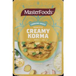 Photo of Masterfoods Indian Style Creamy Korma 375g