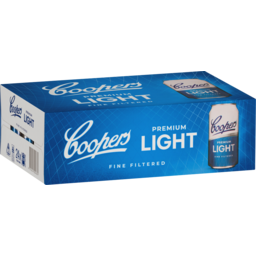 Photo of Coopers Premium Light Cans - 24 X 375ml