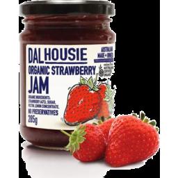 Photo of Dalhousie Jam Strawberry Org 285gm