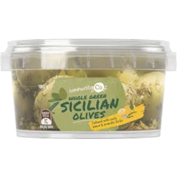 Photo of Comm Co Olives Sicilian Marinaded 180gm