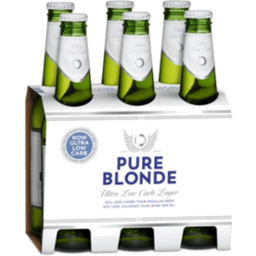 Photo of Pure Blonde Ultra Low Carb Lager Bottles