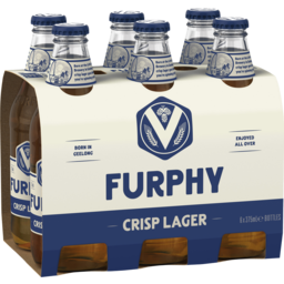 Photo of Furphy Crisp Lager 375ml 6 Pack