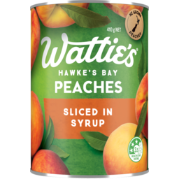 Photo of Watties Peaches Sliced In Syrup 410g