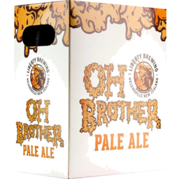 Photo of Liberty Oh Brother Pale Ale 330ml Bottles 6 Pack