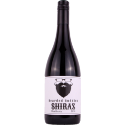 Photo of Bearded Buddies Shiraz 750ml
