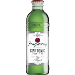 Photo of Tanqueray & Tonic Bottles