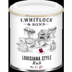 Photo of F Whitlock & Sons Louisiana Style Rub 80g