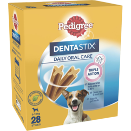 Photo of Pedigree Dentastix Small Dog Daily Oral Care Dental Treats 28 Sticks