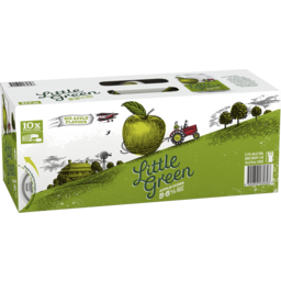 Photo of Little Green Apple Cider Cans