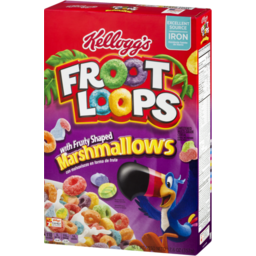 Photo of Kellogg's Froot Loops With Fruity Shaped Marshmallows