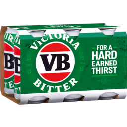 Photo of Victoria Bitter VB Can 375ml 6 Pack