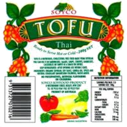 Photo of Soyco - Tofu - Thai Style - 200g