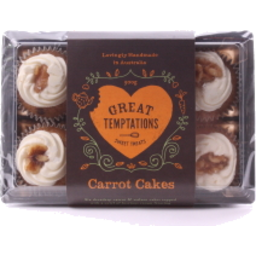 Photo of Great Temptations Carrot Cake Mini Cupcakes 300gm