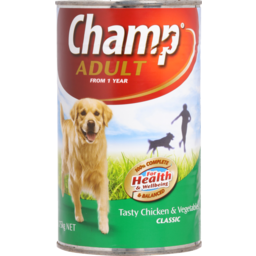 Photo of Champ Adult Dog Food, Chicken & Vegetable 1.15kg