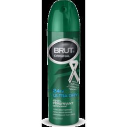 Photo of Brut Original 24hr Ultra Dry Anti Perspirant Deodorant Aerosol 150g