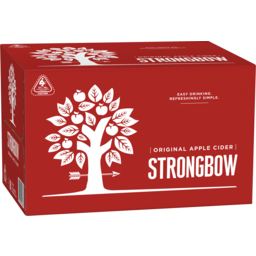 Photo of Strongbow Classic Apple Cider 355ml 24 Pack