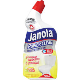 Photo of Janola Power Clean Toilet Bleach Gel Lemon Fresh 700ml