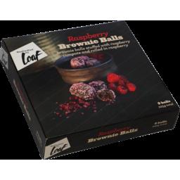 Photo of Loaf Brownie Balls Raspberry 9 Each