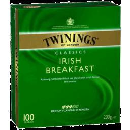 Photo of Twinings Specialty Teas Tea Bags Irish Breakfast 100pk