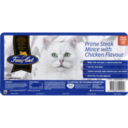 Photo of Fussy Cat Prime Steak Mince With Chicken Flavour 90gm