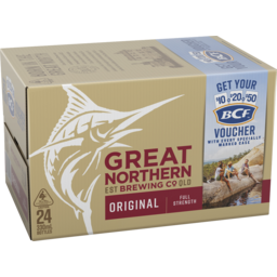 Photo of Great Northern Brewing Original 330ml 24 Pack