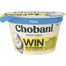 Photo of Chobani Greek Yogurt Plain 170g