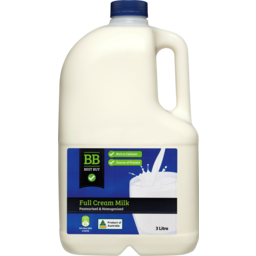 Photo of Best Buy Full Cream Milk 3l Bt