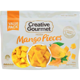 Photo of Creative Gourmet Frozen Mango Pieces 900gm