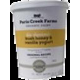 Photo of Paris Creek Biodynamic Yoghurt Bush Honey & Vanilla 500g