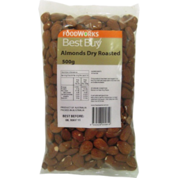Photo of Best Buy Almonds Dry Roasted 500g