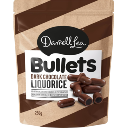 Photo of Darrell Lea Bullet Dark Choc 250gm
